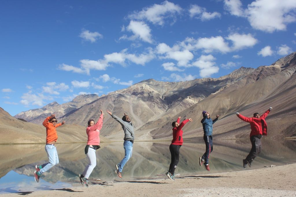 Chandratal lake - The moon lake - Spiti Valley