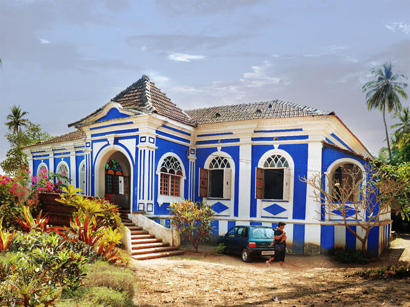 goa traditional design houses