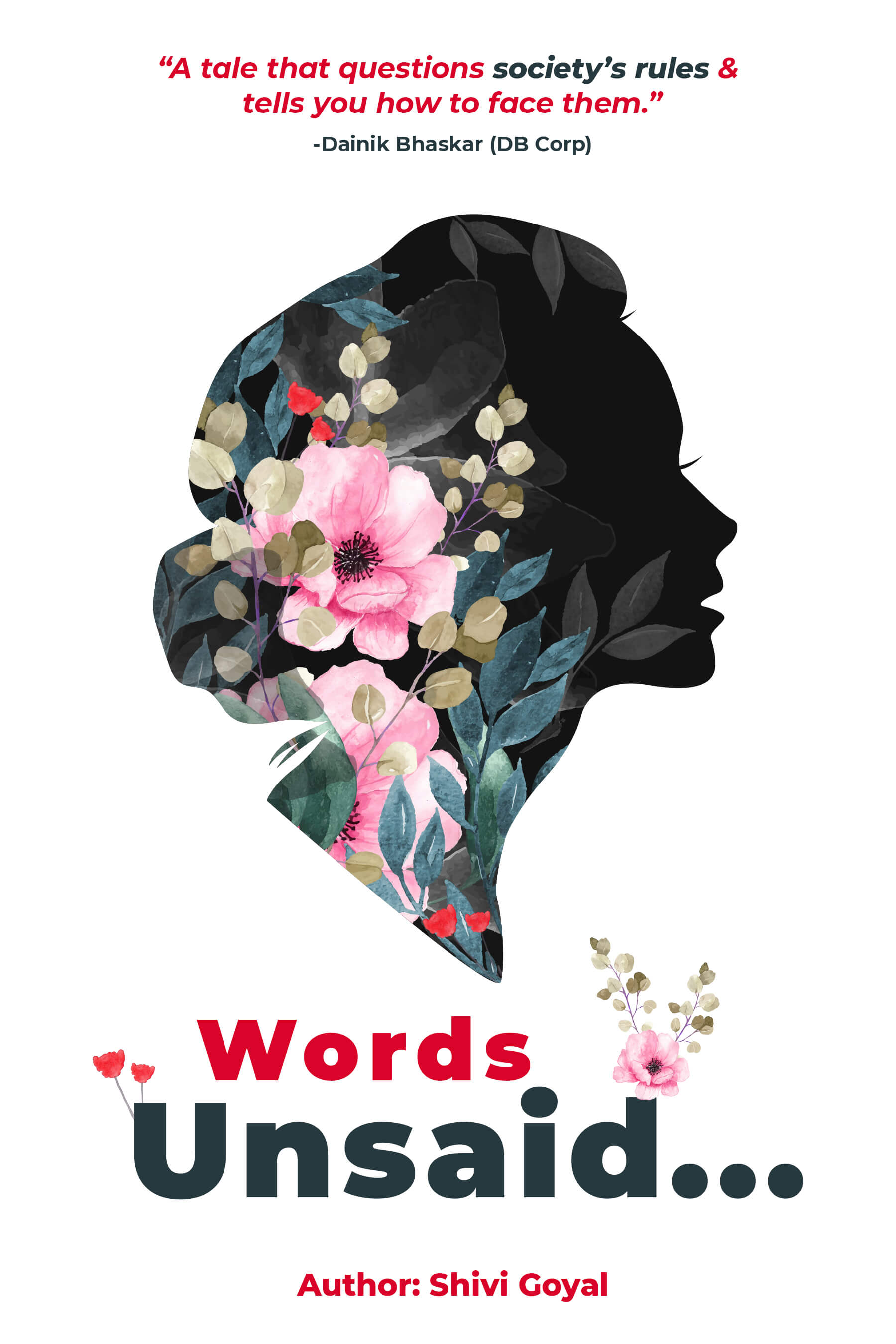Words Unsaid Poetry Book